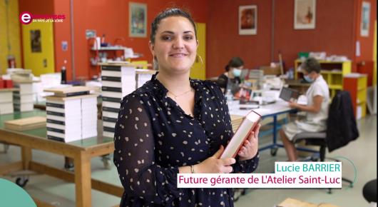 Atelier Saint-Luc : l'art de la reliure à la page du digital