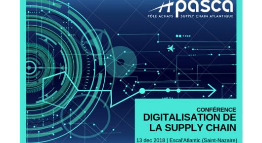 """Conférence """"digitalisation de la Supply Chain"""""""