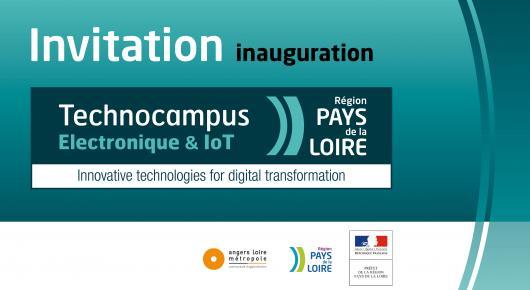 Inauguration du Technocampus Electronique et IoT - Journée de rencontres et d'échanges sur l'Industrie du Futur