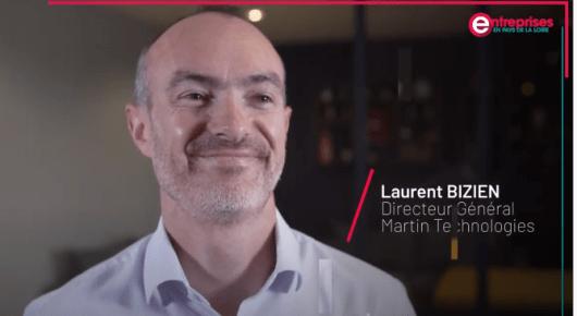 Rencontre avec Laurent BIZIEN DG de Martin Technologies