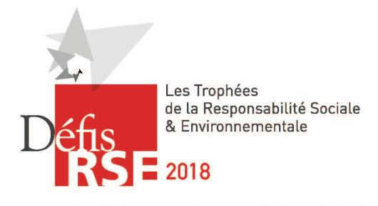 Les 10 lauréats des Trophées des Défis RSE 2018