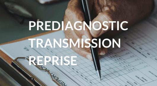 Prédiagnostic Transmission Reprise