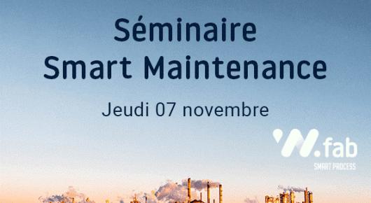 Séminaire Smart Maintenance