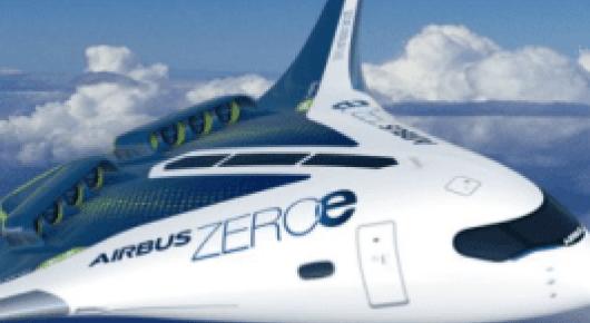 """L'avion """"ZEROe"""" d'Airbus embarquera de l'hydrogène liquéfié à -250°C"""