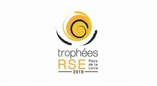 LES 4 LAUREATS DES TROPHEES RSE PAYS DE LA LOIRE 2019